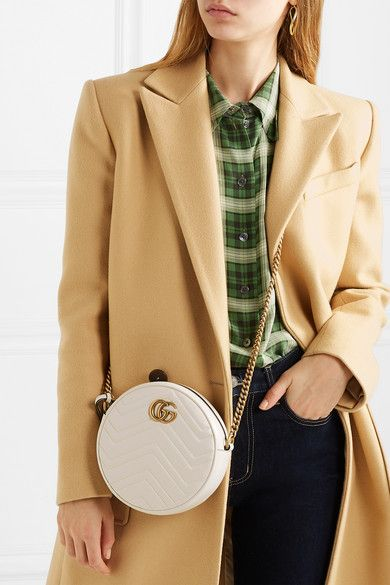 91e0f1fe92cb9b Gucci | GG Marmont Circle quilted leather shoulder bag | NET-A-PORTER.COM
