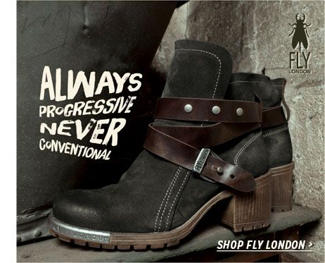 Shop Fly London shoes and boots