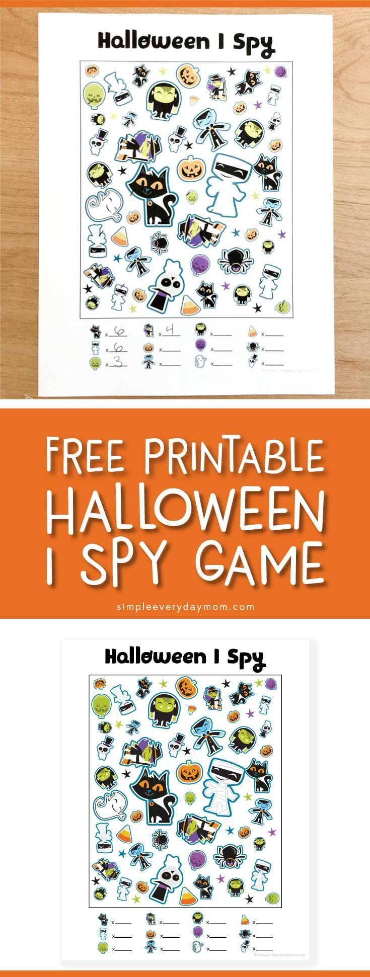 free printable halloween i spy game | printable activities for kids