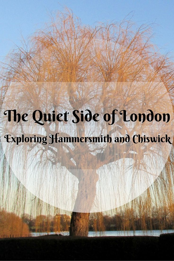 """Exploring Hammersmith and Chiswick in London - """"But what of the rest of London? The lesser-known regions fanning out from the city center that embrace just as much historic eminence as the usual crop of sights found in a 'Top 10 London' Google search? Places like the residential streets that hug the riverbank connecting Hammersmith to Chiswick where instead of dodging aggressive taxis and double decker buses, pedestrians need only worry about skirting the occasional jogger."""""""