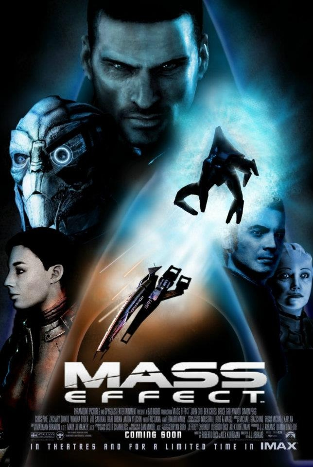 Another Mass Effect movie-like poster. Love it!