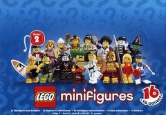 8684-18: LEGO Minifigures Series 2 - Sealed Box