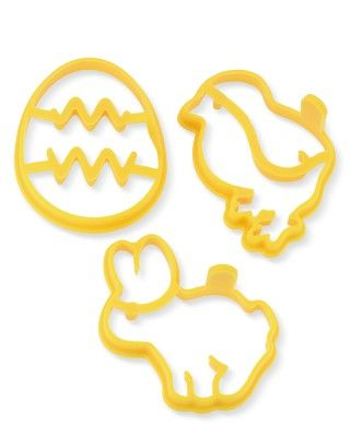 Easter Silicone Pancake Molds, Set of 3 #williamssonoma