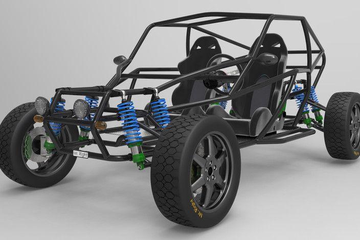 Offroad Buggy - SOLIDWORKS, Other - 3D CAD model - GrabCAD