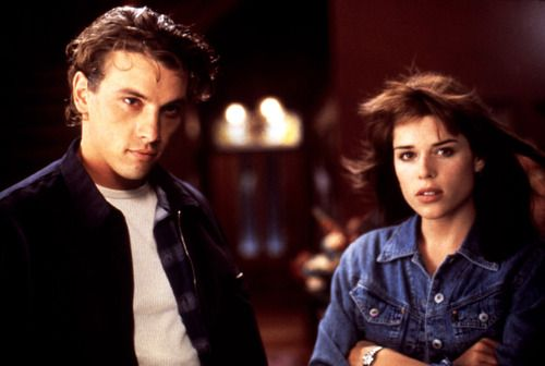 """Neve Campbell, Scream  With her Bambi eyes and trembling lips, Neve (and a cast of other hotties-of-the-moment, including Drew Barrymore, Rose McGowan and Skeet Ulrich) launched the """"new wave"""" of horror movies in this 1996 classic."""