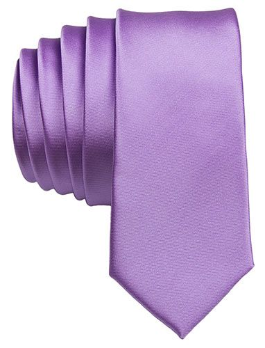 Instead of a purple shirt a grey suit with this purple tie