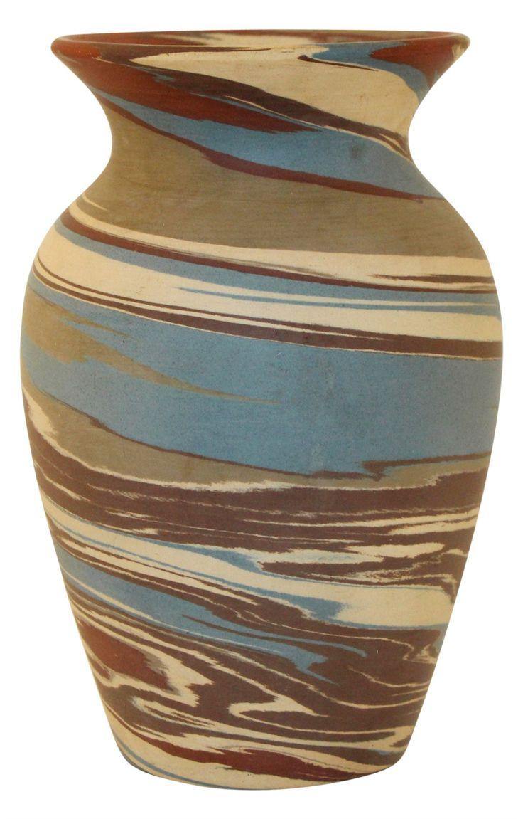 61 best niloak images on pinterest american art vase and arkansas niloak pottery mission swirl colorful flaring rim vase reviewsmspy
