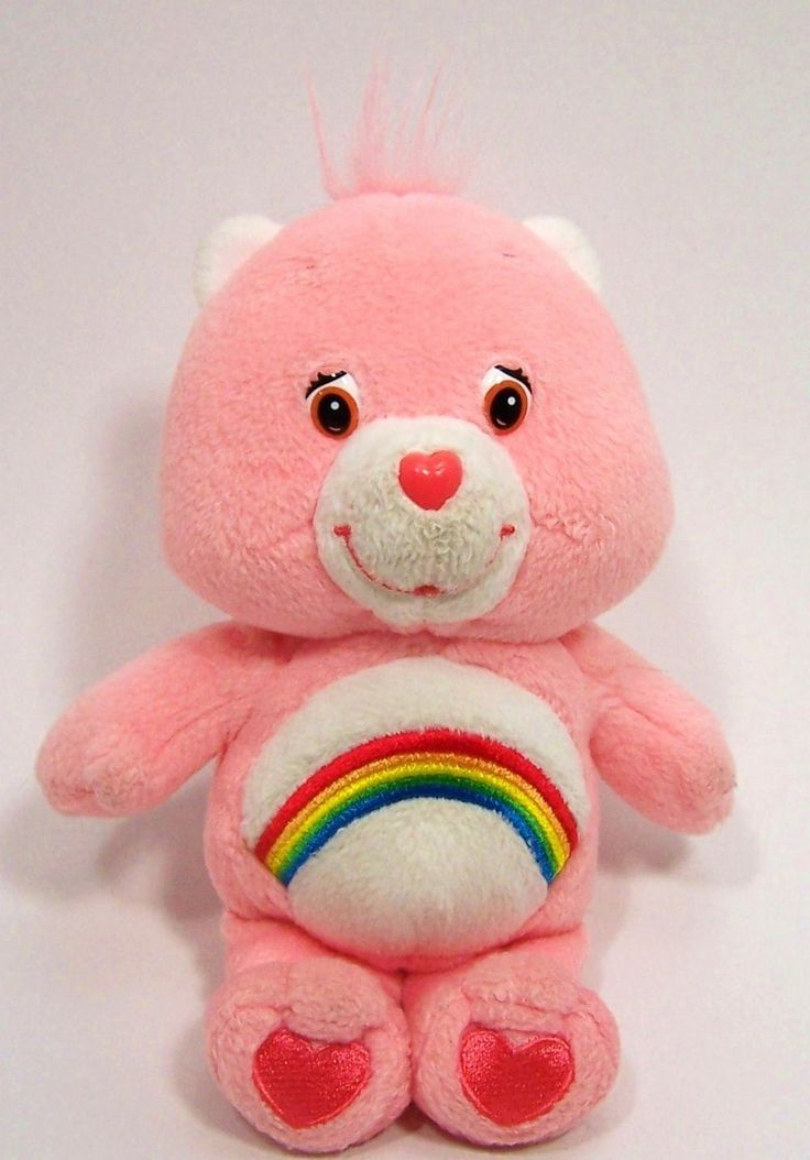Care Bear Cheer Bear Talking Plush Stuffed Animal 8 inch  $6.00 I used to carry mine everywhere! Care Bears starrrrrrrre!