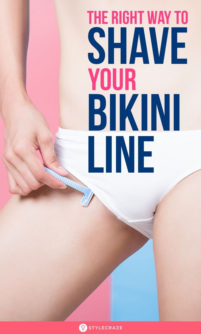 The Right Way To Shave Your Bikini Line
