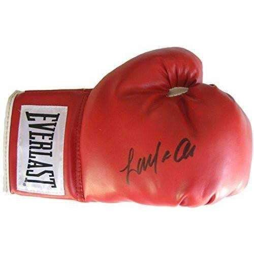Laila Ali, Signed, Autographed, Boxing Glove, a COA with the Proof Photo of Laila Signing Will Be Included