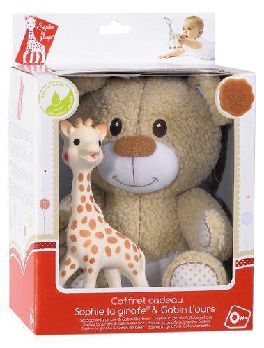 Save $17.57 on Vulli Set Toys, Sophie the Giraffe and Gabin the Teedy Bear; only $43.38