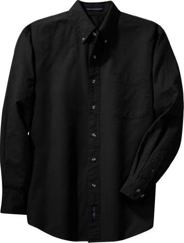 Port Authority long sleeve twill shirts (S600T), 6XL, Black Port Authority,http://www.amazon.com/dp/B000O3M2PY/ref=cm_sw_r_pi_dp_nE2Rrb17F0674484