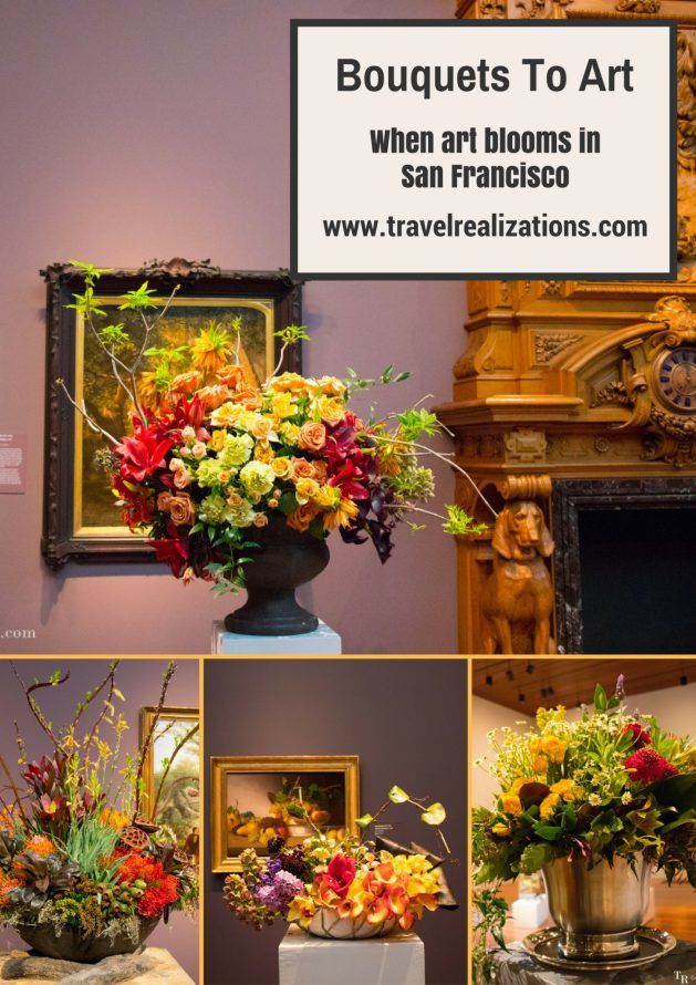 Bouquets To Art - When art blooms in San Francisco! - Travel Realizations