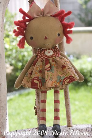 Love this doll from raggedyold annies.com to buy or make