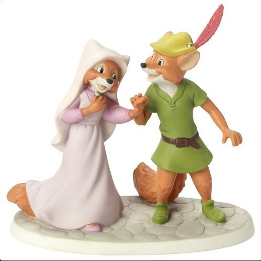 Precious Moments Disney Robin Hood & Maid Marian New 2017 164701