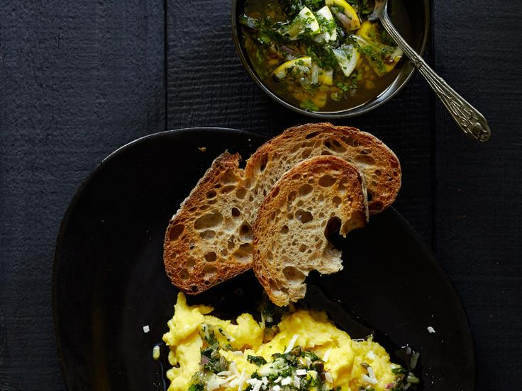 The combination of a vibrant Italian-style sauce and three robust cheeses makes these scrambled eggs nothing short of spectacular. The...