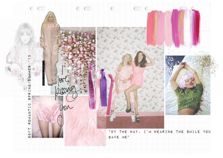 #moodboard #fashion #pink