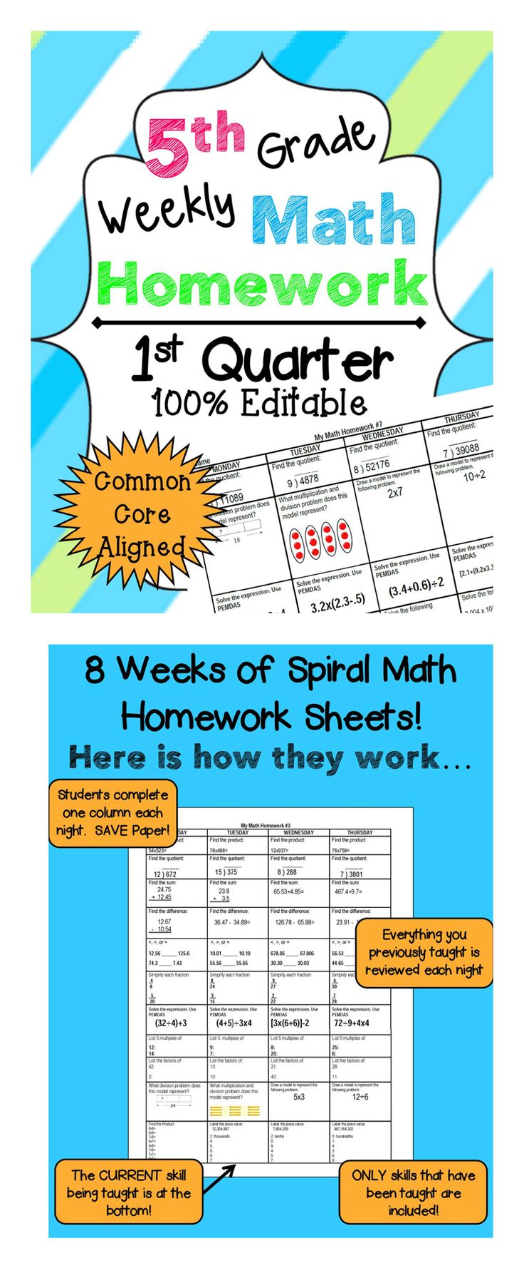 17 Best Images About Fifth Grade Math On Pinterest Math