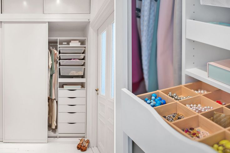 My Walk-in-closet in our old appartment! / Ebba von Sydow