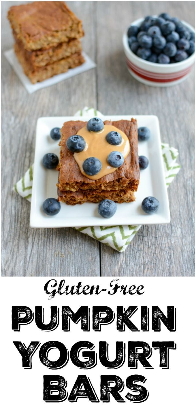 This recipe for Gluten-Free Pumpkin Yogurt Bars makes a quick, healthy breakfast or snack. They're kid-friendly and don't need to be flipped like pancakes.