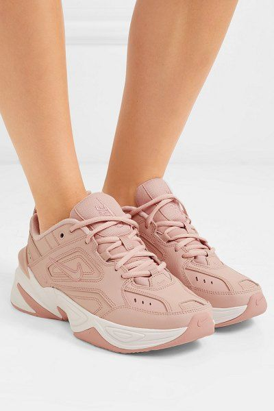f7415b6446 Nike M2k Tekno Leather And Mesh Sneakers in 2019 | HEALTH | Sneakers ...