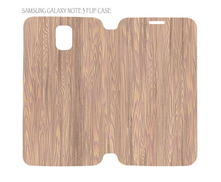 Samsung Galaxy Note 3 Flip Case Folio Cover Luxury Wood Grain Nature Pattern #04 #QuinnCafe