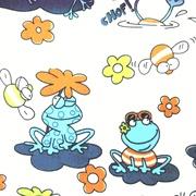 Orange and Blue Froggy <3