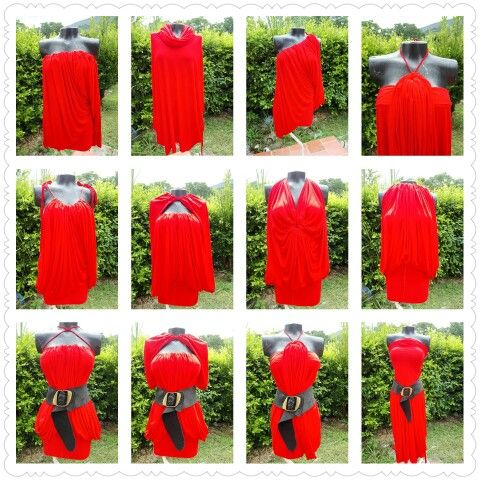 Un vestido doce diseños diferentes\ convertibles Dicaariza\ wp (57)3014777958