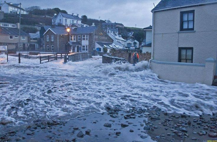 Little haven floods