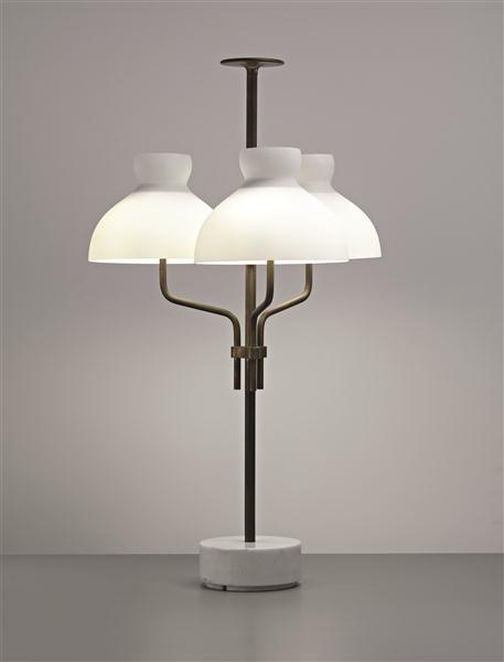 Ignazio Gardella 'Arenzano' Table Lamp by Azucena 1963.