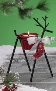 "Pack of 6 Peppermint Reindeer Christmas Votive Candle Holders by CC Home Furnishings. $86.99. Pack of 6 Reindeer Candle Holders with VotivesFrom the Holiday Cheer CollectionItem #HOL0746Unique reindeer design will brighten your holiday decorFeatures red glass filled votiveScent: PeppermintAdditional Product Features of Each Candle:Approximate burn time: 7 hoursWax weight: 1.4 ouncesDimensions of each reindeer: 8""H x 4""W x 7""LMaterial(s): wax/glass/metalLead free - 100% cott..."