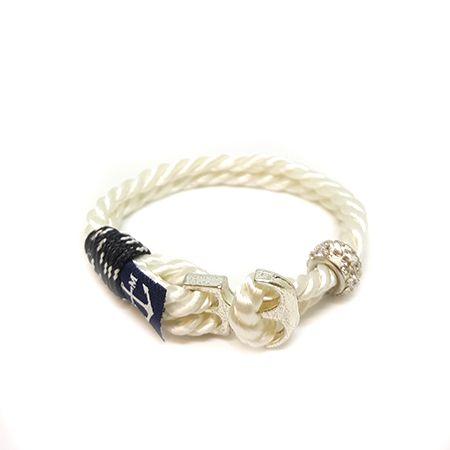 Bran Marion Crystal Beads Anchor Men Nautical Bracelet