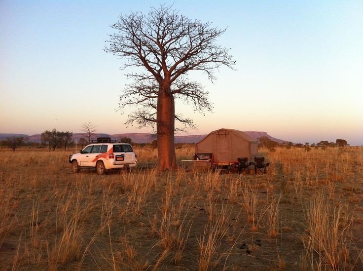 Kimberley Campsite with an Off Road Camper and Toyota Landcruiser  #camingmadeeasy