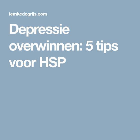 Depressie overwinnen: 5 tips voor HSP