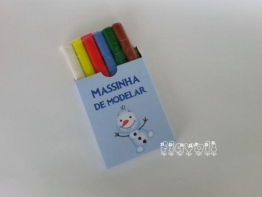 Caixa para massinha - personalizada  :: flavoli.net - Papelaria Personalizada :: Contato: (21) 98-836-0113 - Também no WhatsApp! vendas@flavoli.net