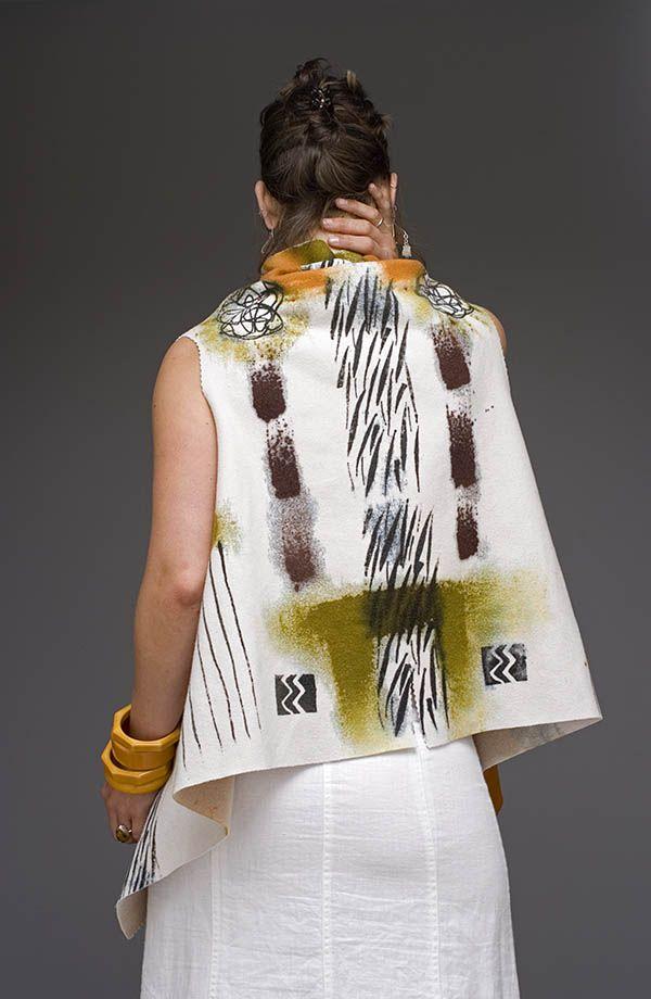 Blue Djelaba Jacket | Holly Badgley Design