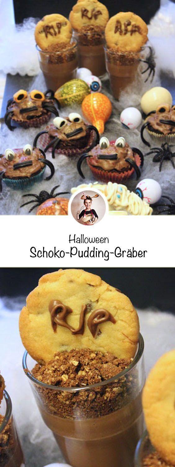 Halloween- Süßer Spuk für Groß und Klein. Wenn am Abend des 31. Oktobers ver… – Melina Fleiss