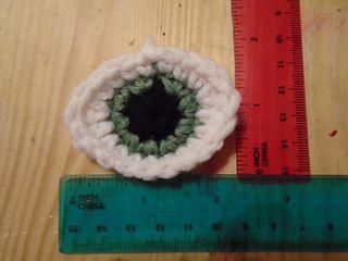 #crochet, free pattern, eyes for amigurumi, stuffed toy, Ravelry, #haken,gratis patroon (Engels), oog, ogen voor knuffel