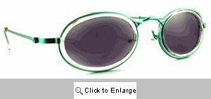 Nifty 80s Sport Sunglasses - 228 Green