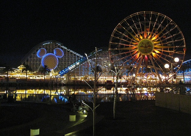 Disney Land, CA! They say its the happiest place on earth.