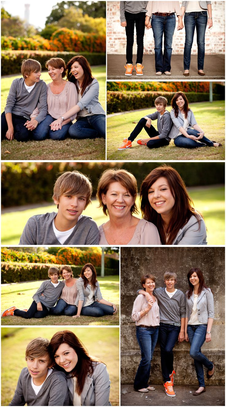 Family portraits storyboard  --    I've got to get Christine to take pics of me, Joshua & Rachel so I can do this!!!