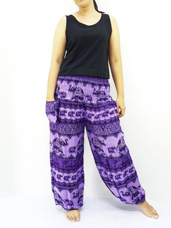 PRT29 Harem Pants Women Yoga Pants Aladdin Pants #clothing #women #pants @EtsyMktgTool http://etsy.me/2yiVgiK