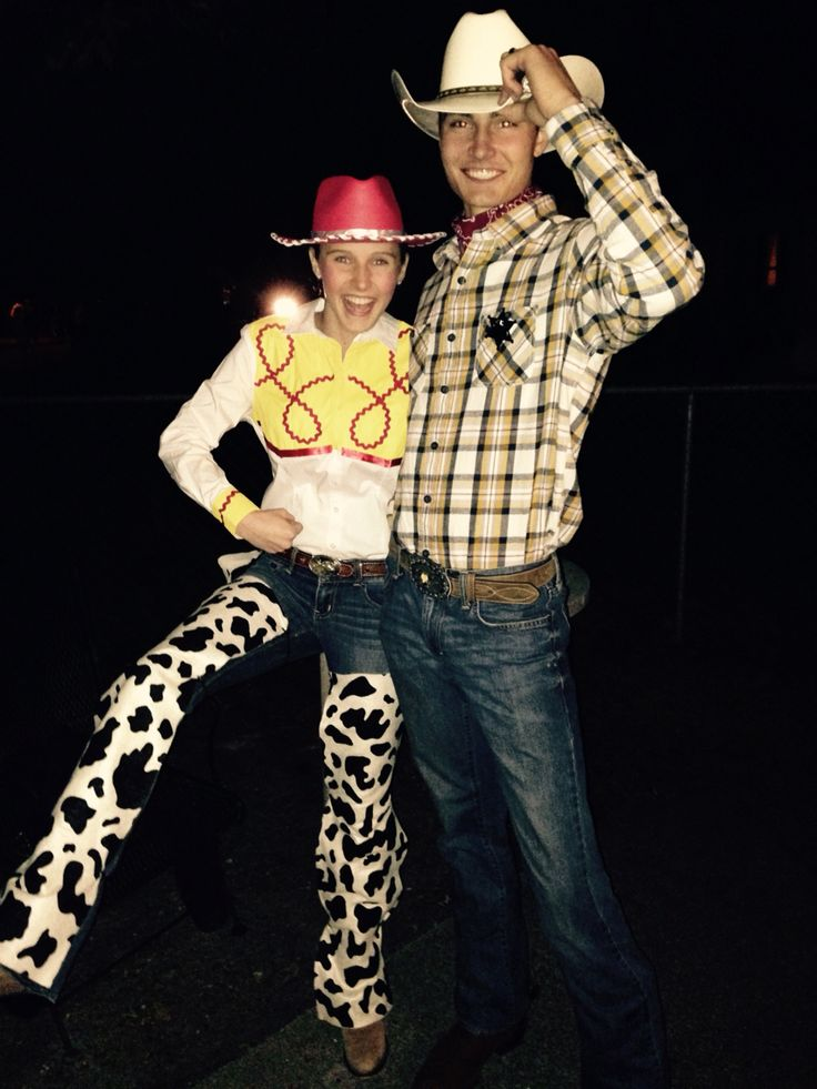 Woody and Jessie Halloween costume