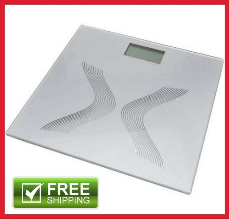 Electronic Digital LCD Bathroom Personal Glass Fat Body Weight Scale 330LB 150kg | Health & Beauty, Vitamins & Dietary Supplements, Weight Management | eBay!