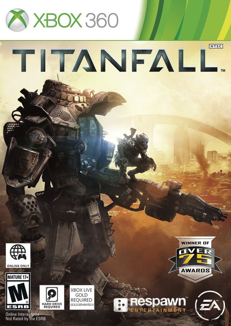 Titanfall for Xbox 360.