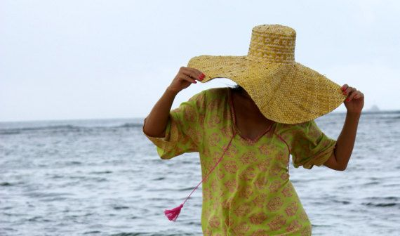 Tassel Beach Tunic/Beach wear/Summer Short dress/Loose fitting