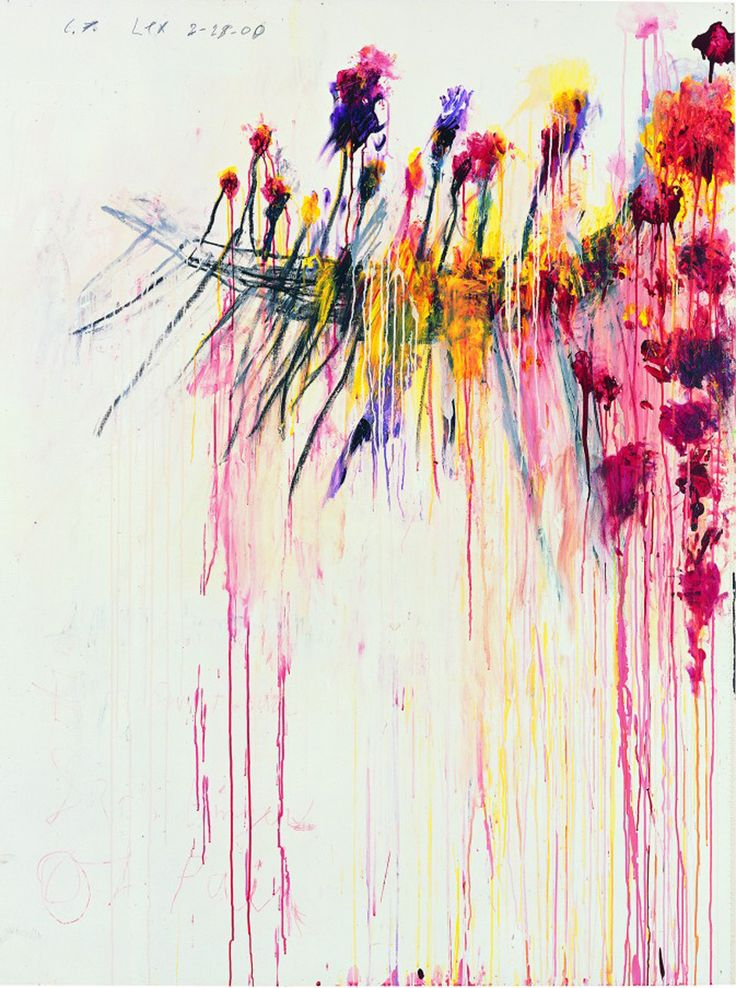 """""""Coronation of Sesostris"""", 2000 de Cy TWOMBLY - Courtesy Pinault Collection  Photo Robert Mc Keever"""