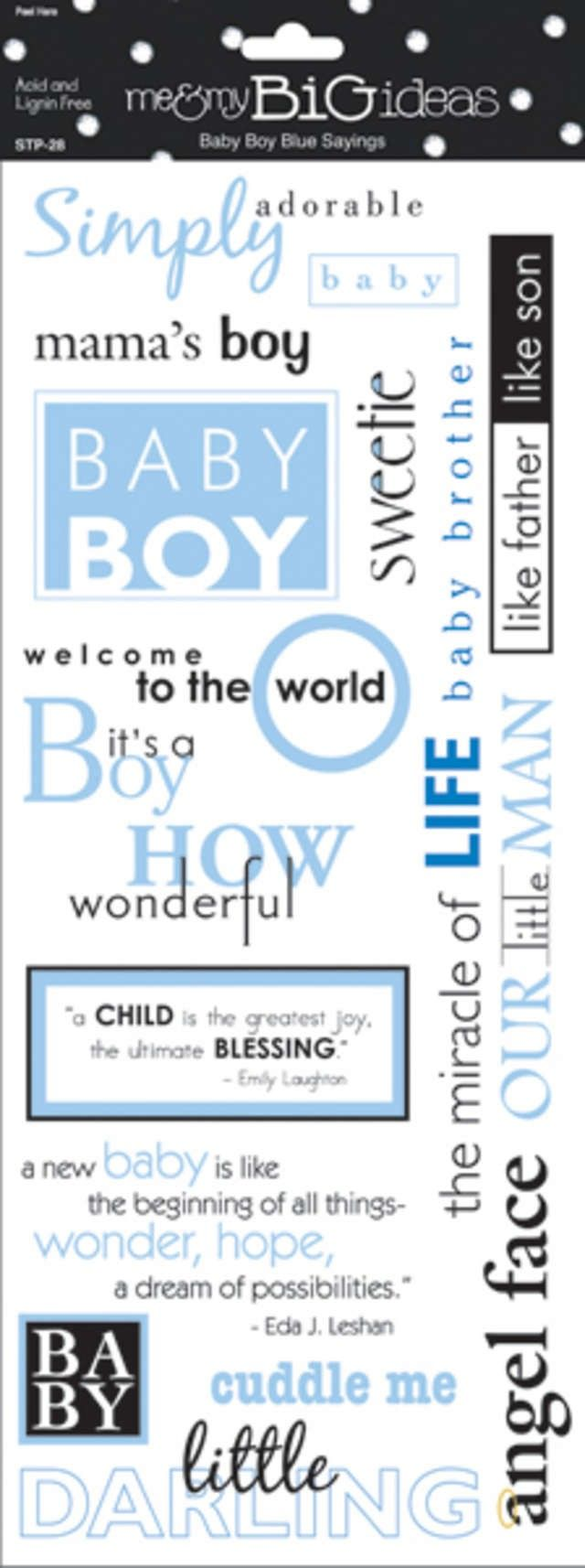 Baby scrapbook ideas quotes - Quotes About Baby Boys Baby Boy Sayings Stickers 5 5 X12 Sheet Stp 28 What To Write In A Card Pinterest Boys Babies And Quotes About