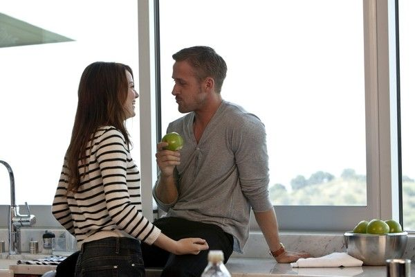 Emma Stone and Ryan Gosling Play Nice