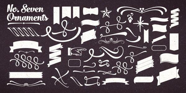 No. Seven Type Family by Emil Bertell, via Behance